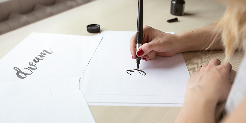 Intro to Modern Calligraphy: Brush Lettering