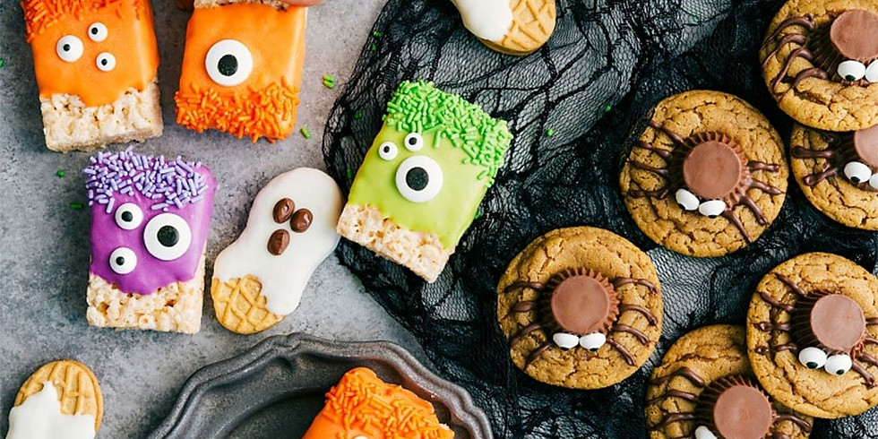 Kids Baking Class: Spooky Halloween Treats! (Ages 6-11)