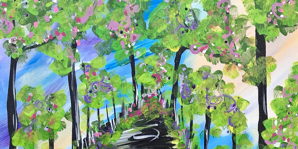 Paint & Sip: Stroll in the park