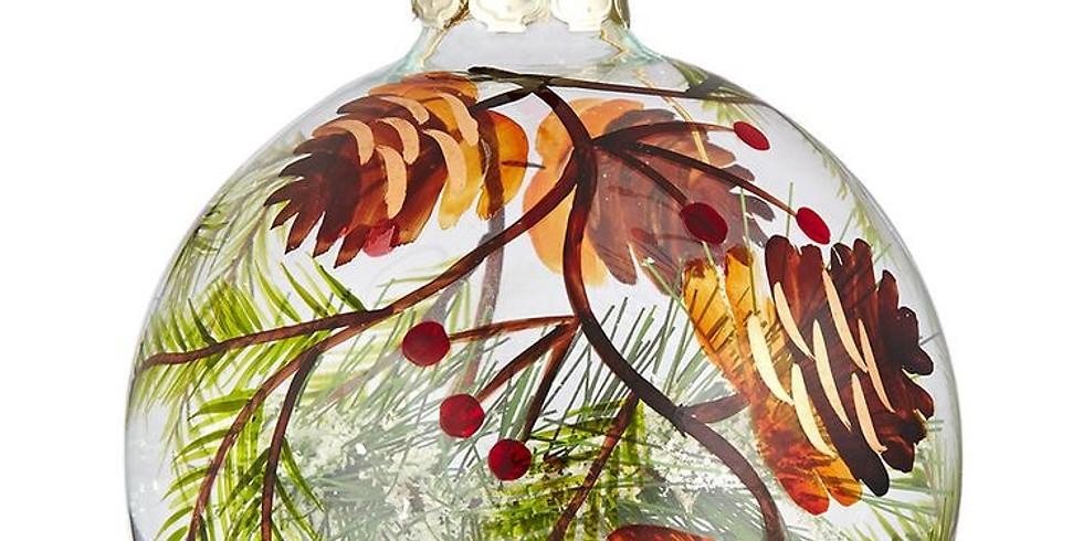 Paint & Sip: Christmas Ornaments