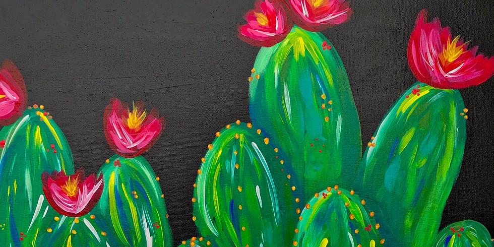 Paint & Sip: Flowering Cacti