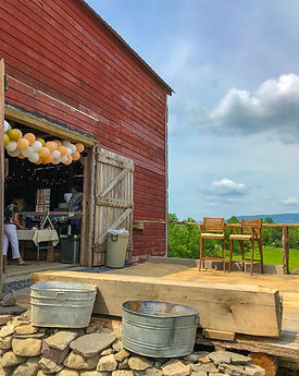 Private event barn space in New Paltz, NY