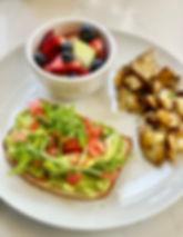 Vegan Breakfast at Watergrasshill Bed & Breakfast in New Paltz.