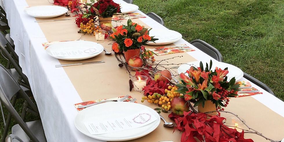 Fall Harvest Dinner with Whitecliff Vineyard