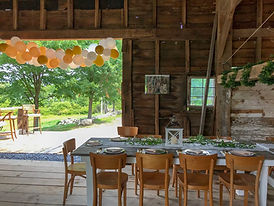 Event Barn in New Paltz, NY