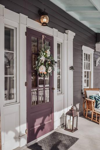 Watergrasshill Bed & Breakfast Front Door