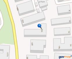 """מפה דו ממדית פרויקט תמ""""א 38 רח' קריניצי  102-104 ר""""ג"""