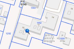 """תמ""""א 38 בחולון רח' פנחס לבון 10-14 מפה דו מימידת"""