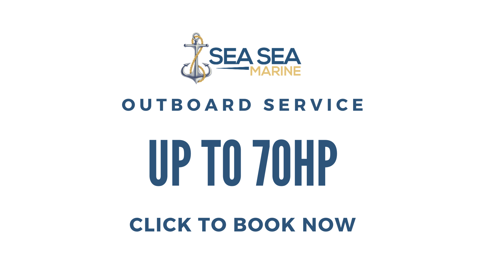 Outboard Service (up to 70HP)