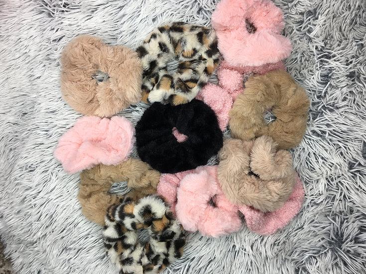 Fluffy Scrunchies