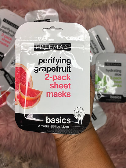Freeman Basics 2 pack masks