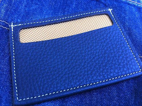 CARD IN BLUE