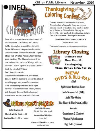 November Newsletter + Contest!