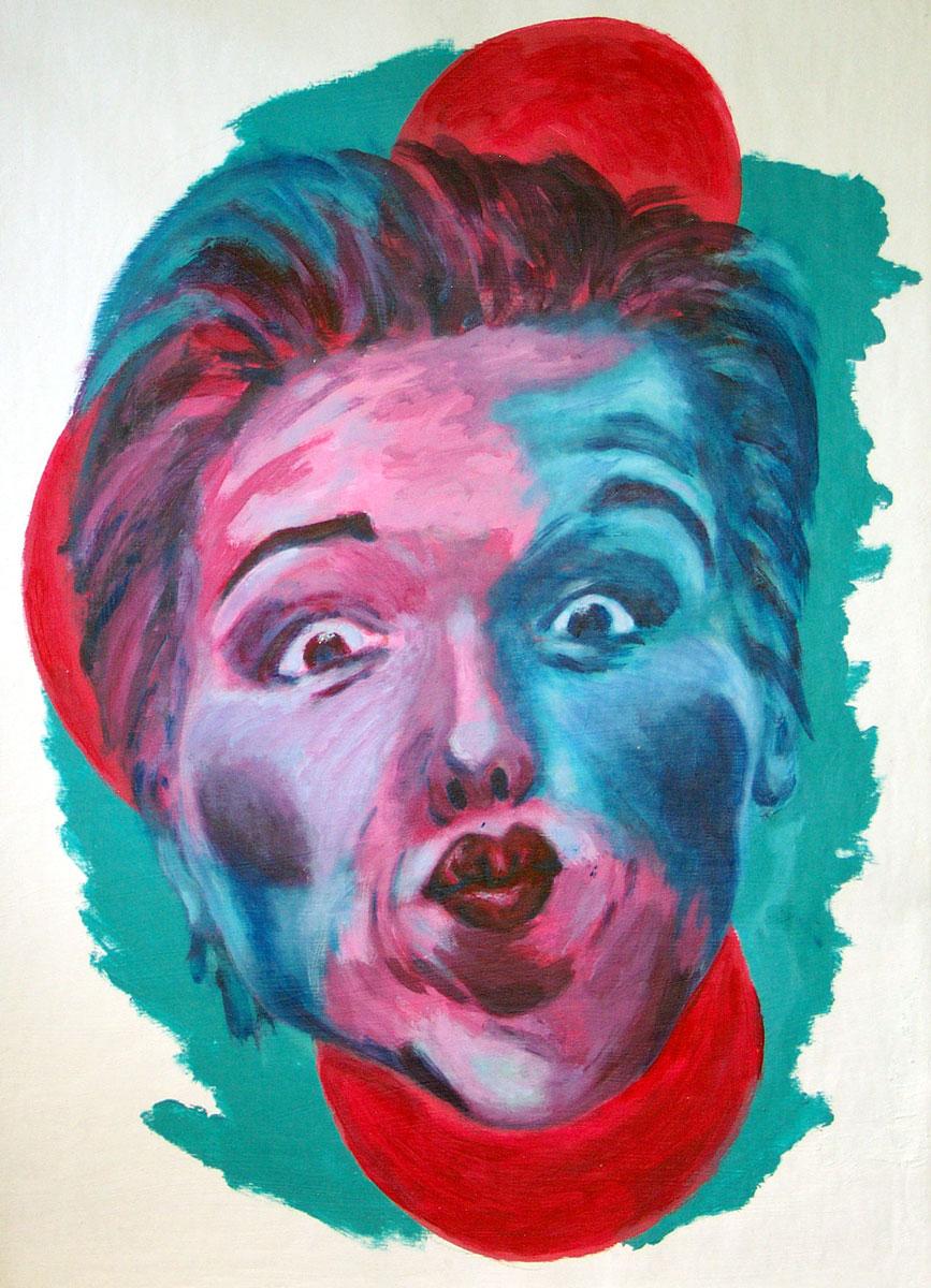 Gesichter und Farbe