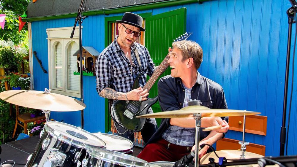 Bild: Guido Hammesfahr als Fritz Fuchs und Jürgen Vogel als Eric Laszlo