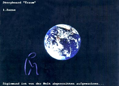 Das Leben ist Traum - Storyboard