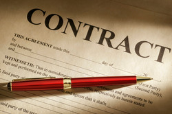 LPF litigates in contract law.