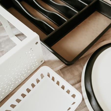 Artículos indispensables para organizar la cocina