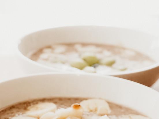 Pudín de guineo y chía: desayuno fácil y saludable (vegano, sin gluten y sin azúcar)