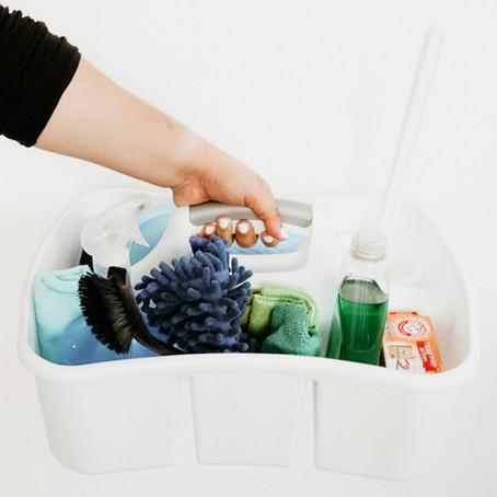 Limpia toda tu casa con vinagre blanco, baking soda y jabón de fregar