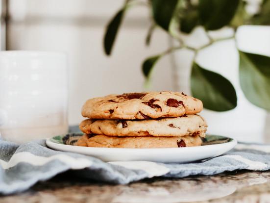 Receta de galletas de chocolate chips caseras