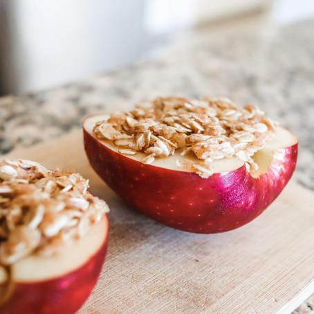 Receta de manzanas horneadas | Apple crumble FÁCIL