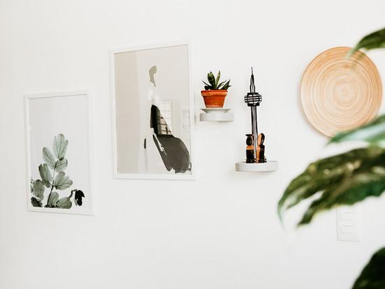 Decorando una pared - Ideas para decorar
