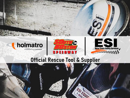 ESI Equipment, Holmatro Rescue Tools Partnering with South Boston Speedway in 2021