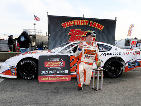 Sellers sweeps Back on Track Twin 75s