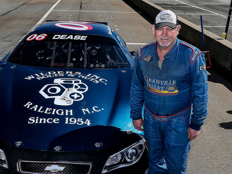 Terry Dease readying for 2021 season at South Boston Speedway