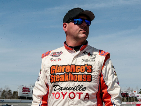 Sellers looking forward to returning to South Boston Speedway