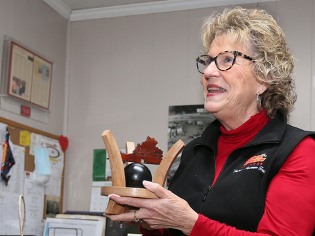 Cathy Rice wins first-ever Halifax Co. Chamber of Commerce Lifetime Achievement Award