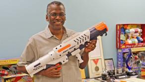 Lonnie Johnson, Inventor of the water gun