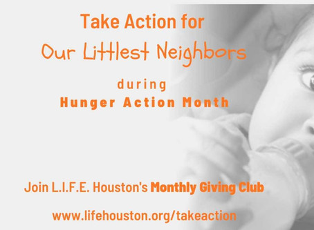 Hunger Action Month: By the Numbers