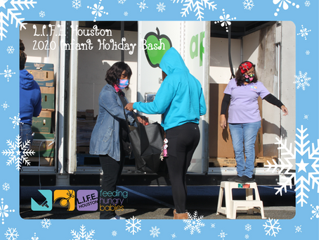 2020 Holiday Bash - our first Drive Through event!