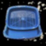 Туалет «Днепр» мелкий с сеткой купить недорого оптом у производителя в Украине Весна ООО