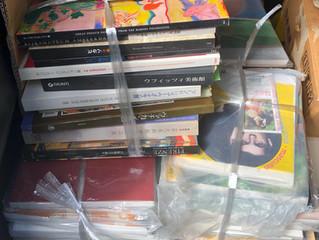 美術展覧会の図録、200冊ほど買い取らせていただきました✨📚