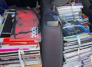 映画パンフレットの買取は数百冊から