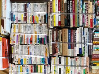 美術関係の文庫、新書、図録、単行本などを数百冊買い取らせていただきました。