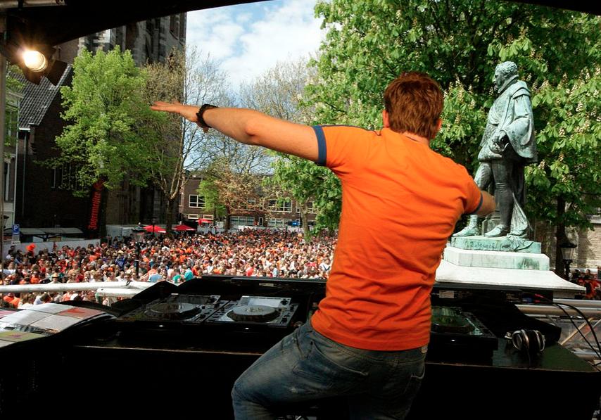 Koningsdag in Utrecht