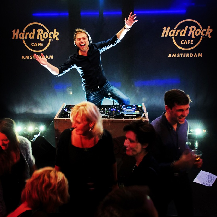 Hard Rock Cafe Amsterdam Silvan Stoet