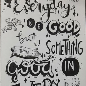 Look for GOOD!