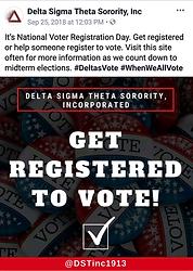 Political Awareness- Voter Registration