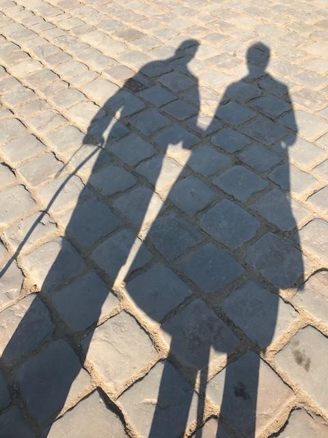 cobblestones at Versailles