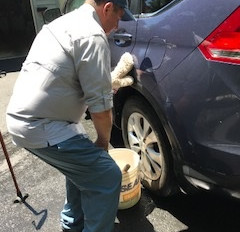 The Simple Joy of Car Washing