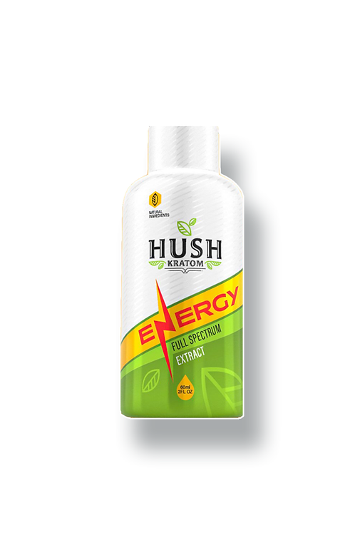 HUSH Energy 2oz shot