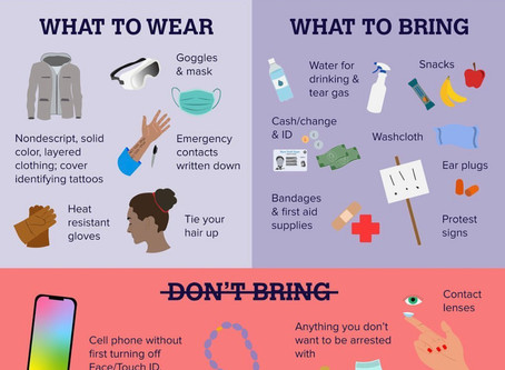 Protesting Tips: Be Safe, Be Heard.