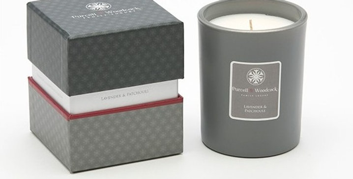Purcell & Woodcock Scented Candle: Lavender & Patchouli