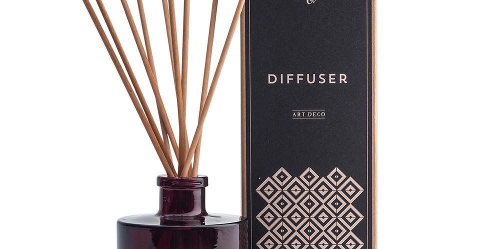 Handmade Soap Company Bergamot and Eucalyptus 'Art Deco' Diffuser