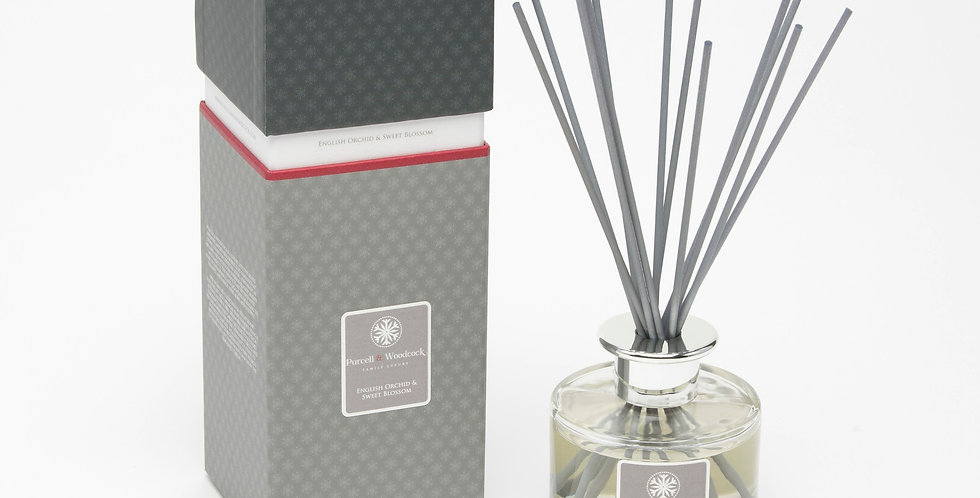 Purcell & Woodcock Signature Diffuser: English Orchid & Sweet Blossom (200ml)